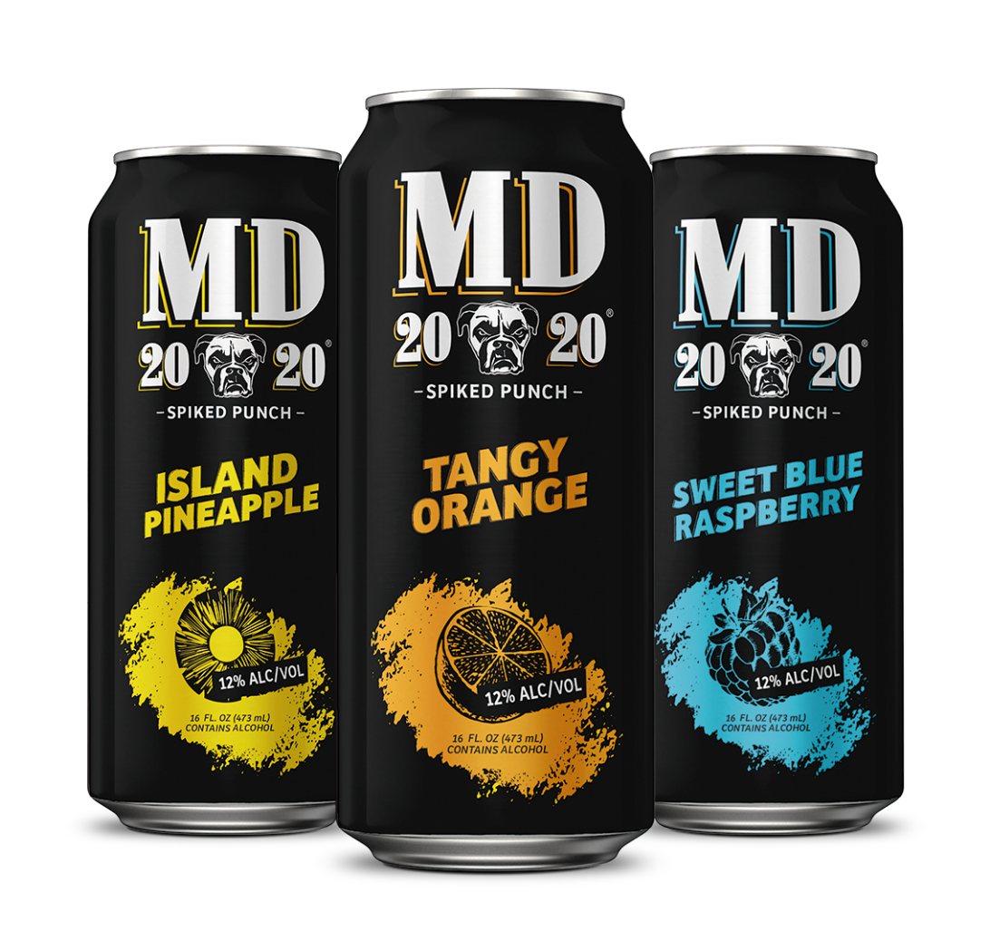 INTRODUCING MD 20/20 Spiked Punch